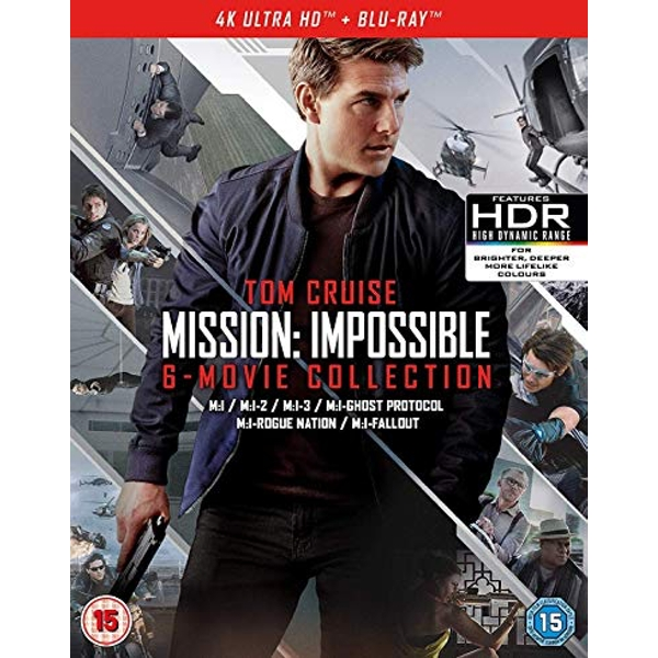 Mission: Impossible - The 6-Movie Collection 4K UHD Blu-ray
