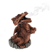 Red Dragon Incense Cone Holder