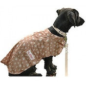 MacPAWS Packable Tan Rain Coat 10-Inches