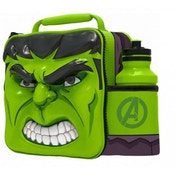 Hulk (Avengers) 3D Childrens Lunch Bag With Bottle