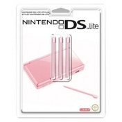 Official Nintendo Pink 3-Piece Stylus Set for DS Lite