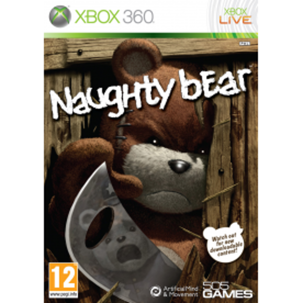 Naughty Bear Game Xbox 360