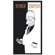 The Simpsons Scarface Maxi Poster
