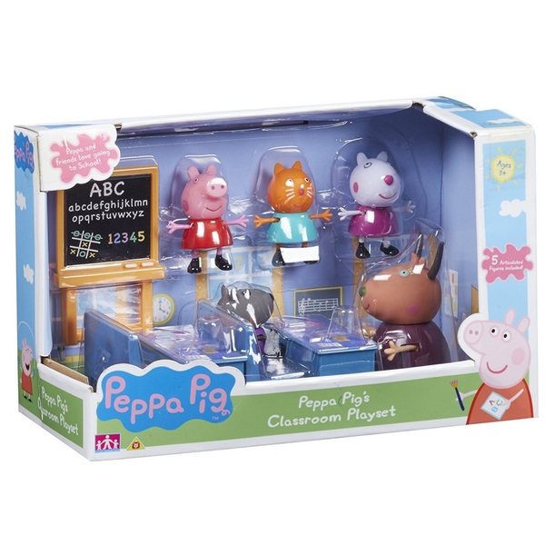 Peppa Pig Classroom Playset [Damaged Packaging]