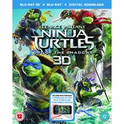 Teenage Mutant Ninja Turtles: Out Of The Shadows (Blu-ray 3D   Blu-ray   Digital Download) 2016