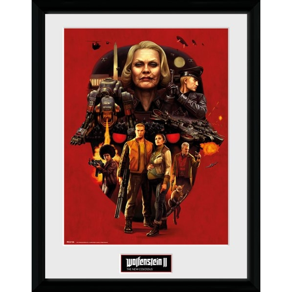 Wolfenstein Face of Death Collector Print - Image 1
