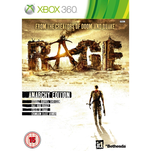 Rage Anarchy Edition Game Xbox 360 - Image 1
