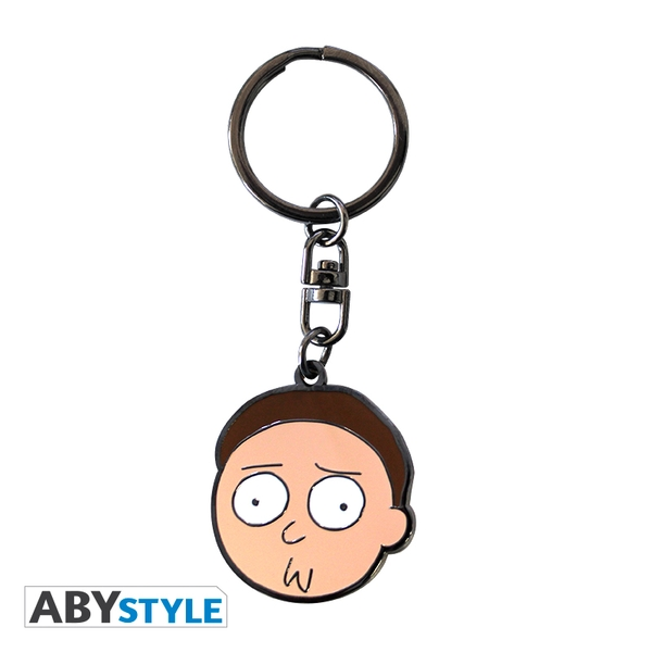Rick And Morty - Morty Metal Keyring