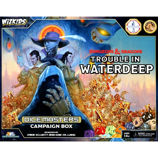 Dungeons & Dragons Dice Masters Trouble in Waterdeep Campaign Box