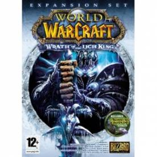 World Of Warcraft The Wrath Of The Lich King Game PC