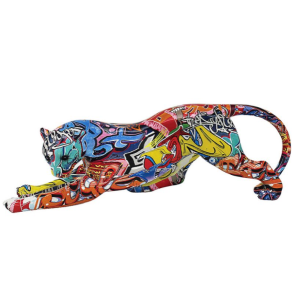 Graffiti Cheetah By Figurine Lesser & Pavey