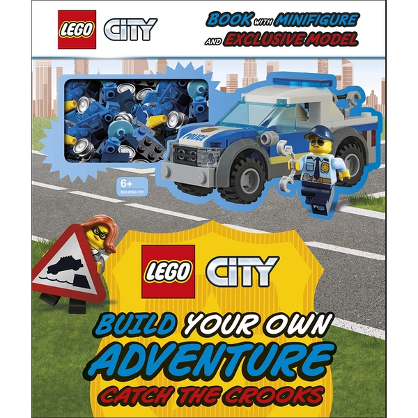 LEGO City Build Your Own Adventure Catch the Crooks