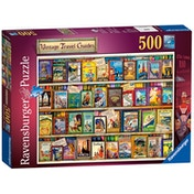 Ravensburger Vintage Travel Guides 500 Piece Jigsaw Puzzle