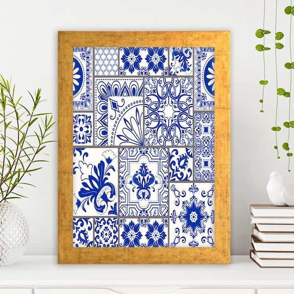 AC727349815 Multicolor Decorative Framed MDF Painting