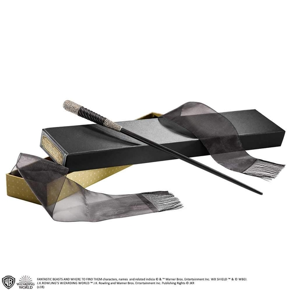 Leta Lestrange Wand (Fantastc Beasts The Crimes of Grindelwald) In Collectors Box by Noble Collection