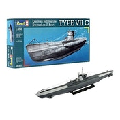 German Submarine Type VII C 1:350 Revell Model Kit