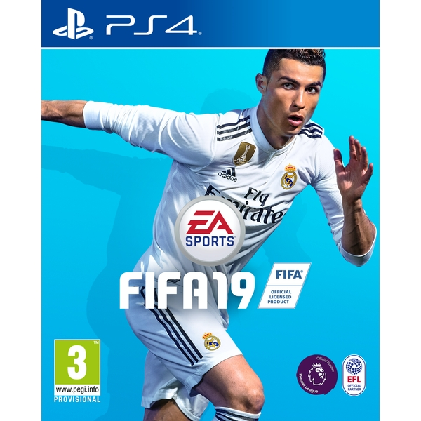 FIFA 19 PS4 Game (Pre-Order FUT Packs)