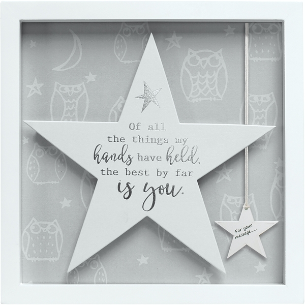 Said with Sentiment Star Frames You