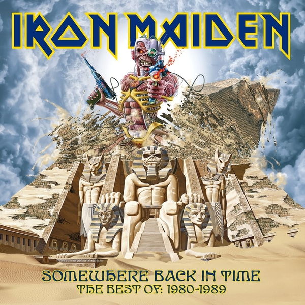 Iron Maiden - Somewhere Back In Time - The Best Of Vinyl