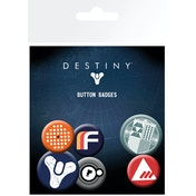 Destiny Mix Badge Pack