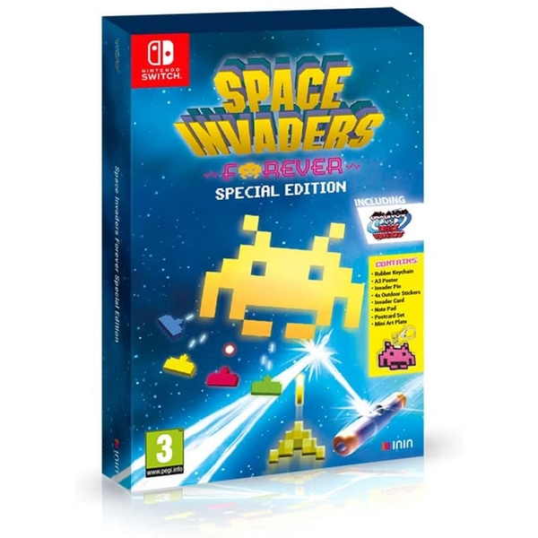 Space Invaders Forever Special Edition Game Nintendo Switch