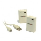 Venom Twin Rechargeable Battery Packs WHITE Xbox 360