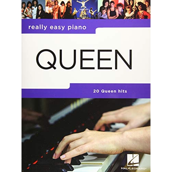 Queen Really Easy Piano by Queen ( 2019, Paperback)