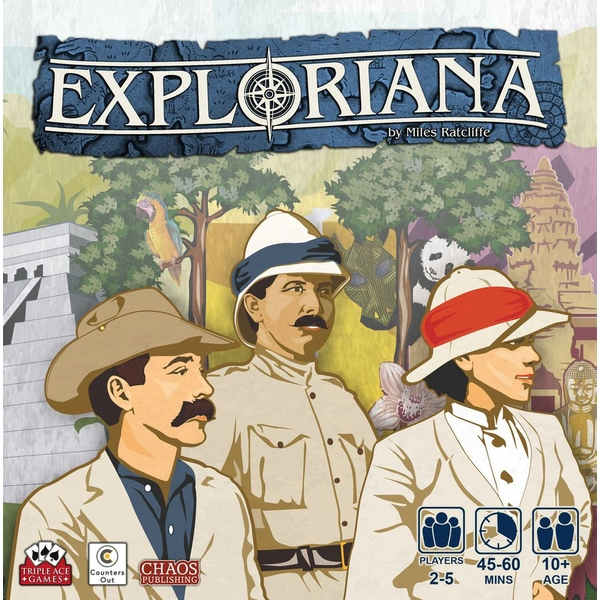 Exploriana Board Game