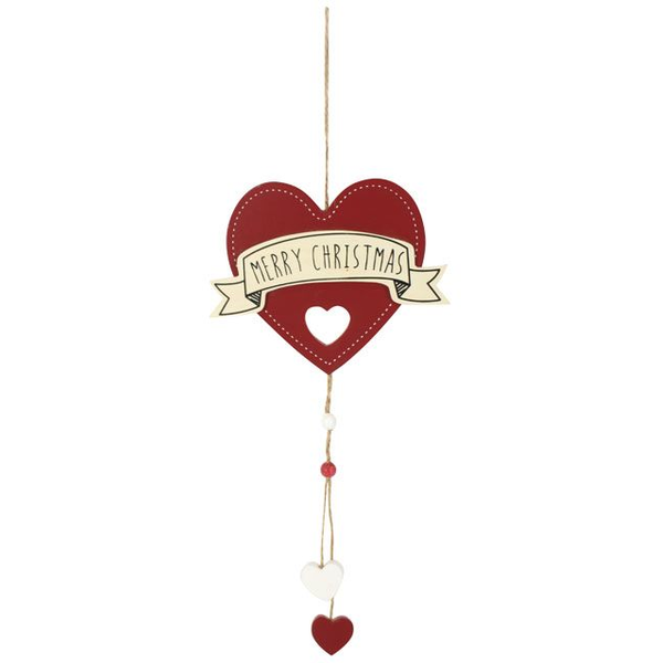 Christmas Heart Png.Merry Christmas Heart Hanging Decoration Shop4ae Com