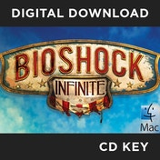 BioShock Infinite MAC Game CD Key Download for Steam