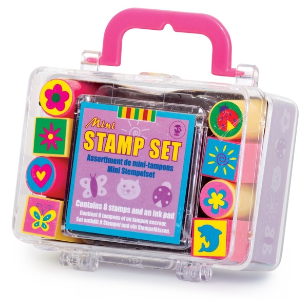 Tobar Mini Stamp Set With Inked Pad