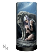 Protector Wolves Lamp UK Plug