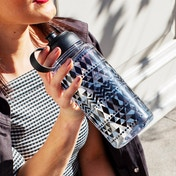 Sass & Belle Scandi Boho Geo Water Bottle 1 Litre