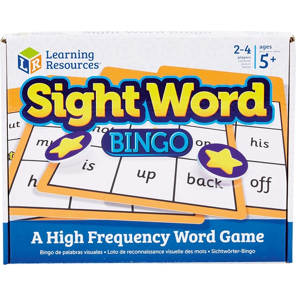 Learning Resources Sight Word Bingo For Kids