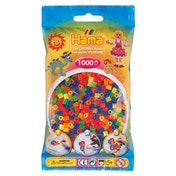 Hama - 1000 Beads in Bag (Neon Mix)