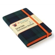 Black Watch: Waverley Genuine Tartan Cloth Commonplace Notebook (9cm x 14cm) by Waverley Books (Hardback, 2016)