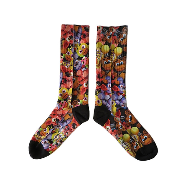 Five Nights At Freddys - Faces Socks