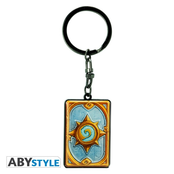 "Hearthstone -  ""Card back"" Keychain"