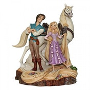 Ex-Display Live Your Dream Carved by Heart (Tangled) Disney Traditions Figurine Used - Like New