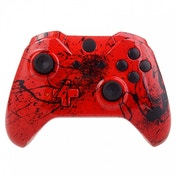 Red Splatter Xbox One Controller