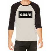 Oasis - Logo Men's Small T-Shirt - White