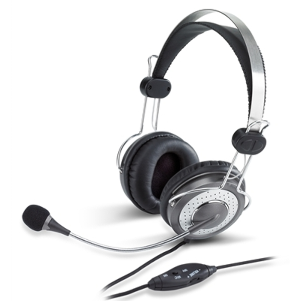 Image of Genius HS-04SU Luxury Noise Cancelling 3.5mm Headset