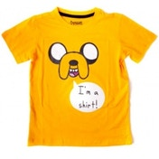 Adventure Time I'm A Shirt Kids Orange T-Shirt Age 10-12
