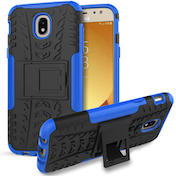 Samsung Galaxy J5 (2017) Tough Kickstand Combo - Black and Blue