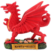 Resin Welsh Dragon Figurine 3