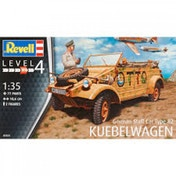 German Staff Car Type 82 Kübelwagen 1:35 Revell Model Kit