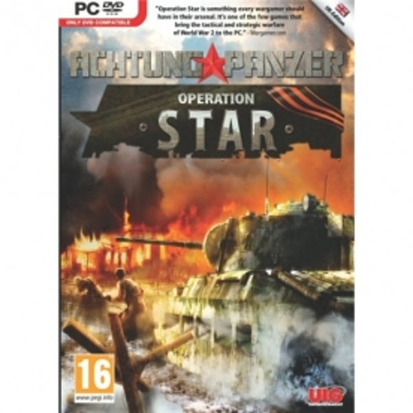 Achtung Panzer Operation Star Game PC