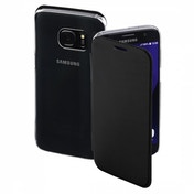 Hama Clear Booklet Case for Samsung Galaxy S7, black