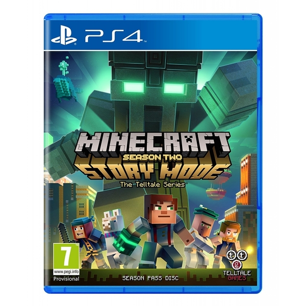 Minecraft Story Mode Season 2 Pass Disc PS4 Game