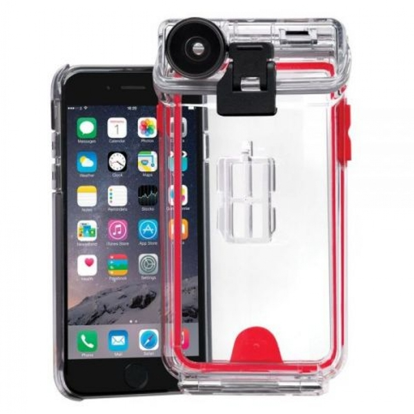 sports shoes 3f9c9 ef9a1 Optrix Waterproof Action Camera Case with 4 Lens Kit for iPhone 6/6s ...